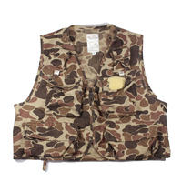 1980s Sportline Duck Hunter Camo Sporting vest