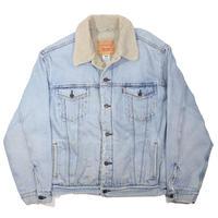 2000s Levi's Denim Boa Trucker Jacket