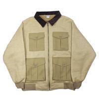 COMFORTABLE REASON / Boa FLeece Pilot Jacket (Camel)