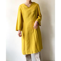 1950s Handmade Dress (Yellow)