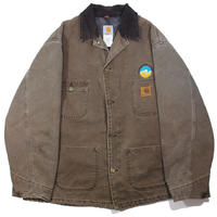 1990s Carhartt Duck Coverall w/blanket