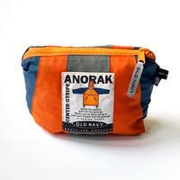 1990s OLD NAVY Packable Nylon Anorak