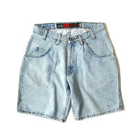 "1990s Silver Tab ""LOOSE"" Denim Shorts"