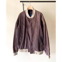1980s〜 Double Black Faded Capeshoulder Jacket