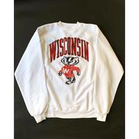 1980s Wisconsin University Sweat Shirts