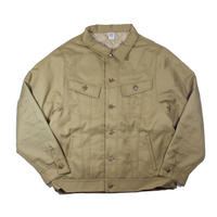 COMFORTABLE REASON / Daily Trucker Jacket (Beige)