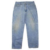 1990s L.L.Bean Fleece Lining Denim Pants