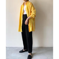 1980s Yellow Silk Shirts