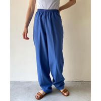 1980s Sax Blue Easy Pants