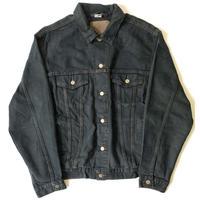 1990-00s Levi's Overdyed Denim Trucker Jacket  (Brown Stich)