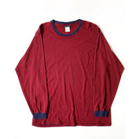 1990s Basic Edition L/S Tshirts (Red/Navy)