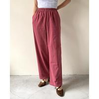 Retro Pink Easy Pants