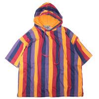 1990s Striped Tshirts w/hoodie