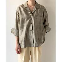Silk Open Collar Shirts