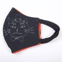 燐のガーゼマスク ハット猫