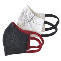 燐のガーゼマスク 蜘蛛の巣
