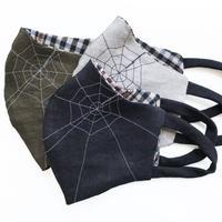 燐の麻マスク 蜘蛛の巣