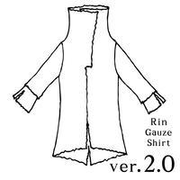 ガーゼシャツ ver2.0