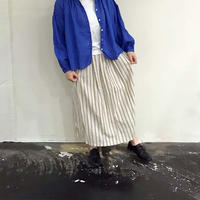 ichi 201117 ドビーストライプスカート