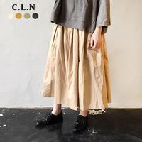 CLN 18033594 たっぷりギャザーガウチョパンツ
