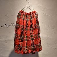 ICHI Antiquites 700324 ウールタータンスカート