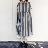 SUNVALLEY SK4055210 綿麻ワイド切替ワンピース