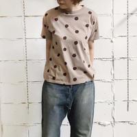 ichi 201052 ドットTシャツ