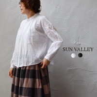 sunvalley SK2001216 ボイルギャザーシャツ