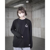 Connecting the dots / HEDWiNG コラボロングスリーブTシャツ ブラック