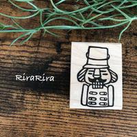 【クリスマス】くるみ割り人形*ラバースタンプ