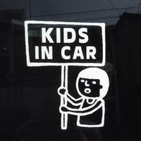 【数量限定/復刻版】まもるくんKIDS IN CAR*車用ステッカーシート