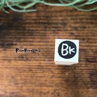 【BK(銀行)】スケジュールはんこ*10㎜角