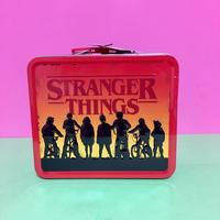 ストレンジャー シングス 缶ケース ランチボックス ④ STRANGER THINGS LUNCH BOX