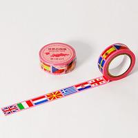 世界の国旗 ヨーロッパ編 マスキングテープ MASKING TAPE