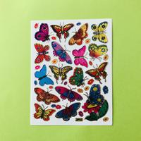 蝶々 ⑧ キラキラ シール  BUTTERFLY STICKER