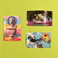vaporwave シール 3枚セット ①