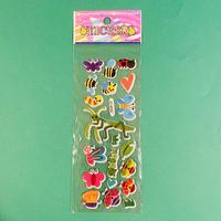 虫⑧ ぷっくりシール INSECT STICKER