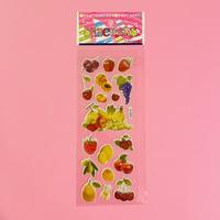 フルーツ① ぷっくりシール FRUIT STICKER