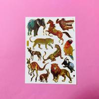 動物 ⑤ キラキラ シール ANIMAL  STICKER
