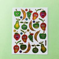 フルーツ キラキラ シール ⑤  FRUIT STICKER