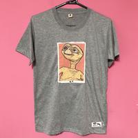 E.T. Tシャツ ライトグレー  E.T. TSHIRT LIGHT GREY