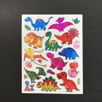恐竜 ⑥ キラキラ シール  DINOSAUR STICKER
