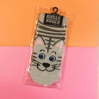 猫 ねこ 靴下 CAT ANKLE SOCKS