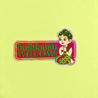 ようこそ タイ語 英語 シール キラキラ ピンク WELCOME STICKER