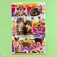 猫 ネコ シール 大 CAT STICKER  ②