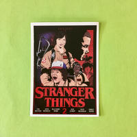 ストレンジャーシングス STRANGER THINGS ステッカー #33