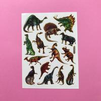 恐竜 ② キラキラ シール DINOSAUR STICKER