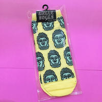 ブッダ 黄色 靴下 BUDDHA YELLOW ANKLE SOCKS