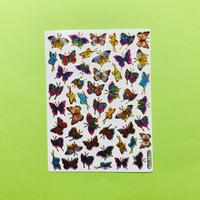 蝶々 キラキラ シール (11)  BUTTERFLY STICKER