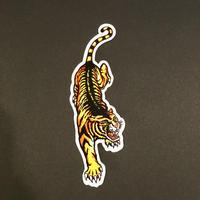 トラ 虎 タイガー シール 右向き TIGER STICKER
